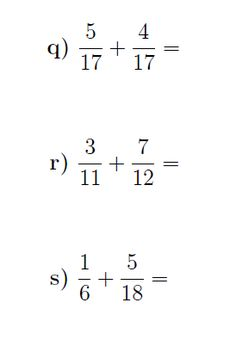 Adding fractions:  A worksheet on adding fractions. Detailed solutions are included.