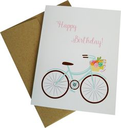 Need a birthday card? Send this sweet birthday card to the birthday girl! If you are sending a gift directly to the recipient we can fill the card out for you, just add a note of what you want it to s