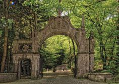 Schloß Landsberg - Entrance to the Park