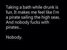 Yo ho ho and a bottle of rum!