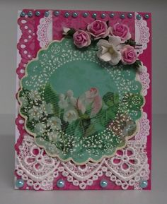 Mini card - Secret Admirer - Scrapbook.com Secret Admirer, Arts And Crafts, Paper Crafts, Craft Cards, Handmade Cards, Scrapbook, Tags, Create, Mini