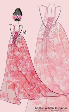 Pink Rose by SEWFashion.deviantart.com on @deviantART