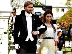 Os casamentos da novela Lado a Lado. Laura.