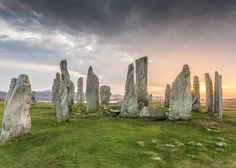 Callanish Standing Stones, Isle of Lewis | 25 Places In Scotland That Are Straight Out Of A Fantasy Novel