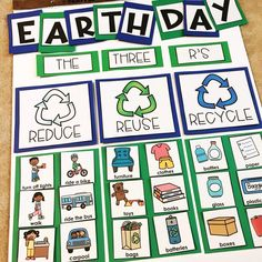 Celebrating Earth Day in the Classroom – Teaching Special Thinkers Celebrating Earth Day in the Classroom – Teaching Special Thinkers,Earth Day/Recycling Earth Day is on April try out these fun and simple activities. Earth Day Projects, Earth Day Crafts, Projects For Kids, Art Projects, Recycled Crafts Kids, Easy Crafts For Kids, Recycled Art, Recycling For Kids, Recycling Activities For Kids