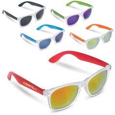 19527ffb2a7239 Image of Printed Trendy Sunglasses With Coloured Lens. Retro Sunglasses