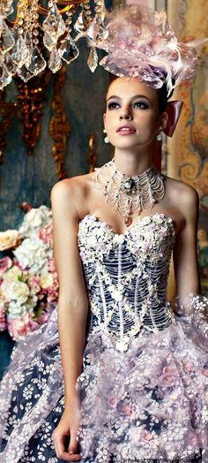 stella de libero I bridal couture. Couture Mode, Style Couture, Glamour, Fairytale Gown, Fairytale Fashion, Moda Paris, Fantasy Dress, Costume, Beautiful Gowns