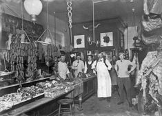 butcher shop old - Google Search
