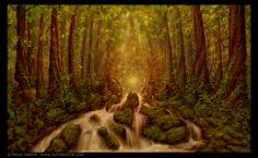 Divine Encounter ~ Simon Haiduk   http://www.artbysimon.com/