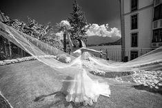 wedding photographer: stunning wedding from USA to loggia Durini Villa Balbianello Lake Como Wedding Venues, Wedding Photos, Bride Portrait, Lake Como, Grand Hotel, Dress Wedding, Black And White Photography, Villa, Mermaid