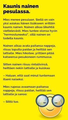 vitsit_kaunis_nainen_pesulassa_2 Texts, Funny Pictures, Jokes, Photoshop, Inspirational Quotes, Wisdom, Lol, Humor, Comics