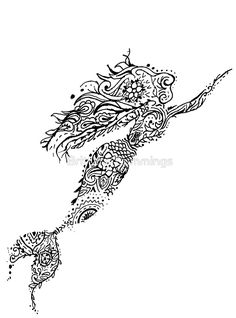 mandala mermaid - Google Search