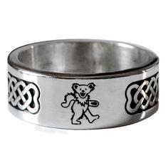 Grateful Dead - Dancing Bear Ring.