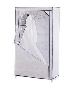 45% OFF Organize It All White Storage Wardrobe
