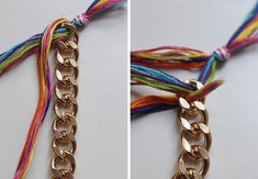 DIY Double-Wrapped Braided Chain Bracelet - Why Don't You Make Me? Crochet Coin Purse, Diy Fashion Accessories, Diy Braids, Braided Bracelets, Leather Bracelets, Jewelry Making Tutorials, Jewelry Crafts, Jewelry Ideas, Beaded Jewelry