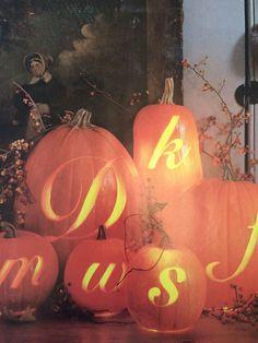Halloween idea from Martha