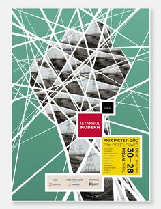 ISTANBUL MODERN - Poster Project by Emre Ozbek, via Behance