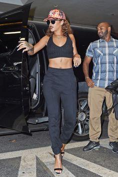 Rihanna in New York City on Aug. 10, 2015.   - Cosmopolitan.com