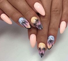 Ibiza Chill Gel Polish by Sonia Bąk, Indigo Wrocław #nails #nail #nailart…