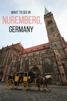 Top tips for what to see during your travels in Nuremberg, Germany!