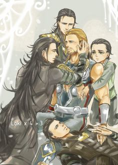 Loki, the troublemaker of Asgard, God of Mischief.