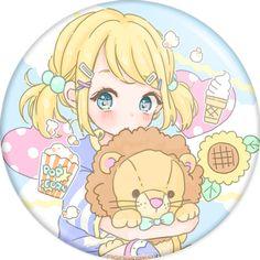 Manamoko - Badges - Vocaloid - PHOOEY SHOP