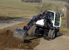 Terex adds TW85 and TW110 wheeled excavators to North American market | Better Roads