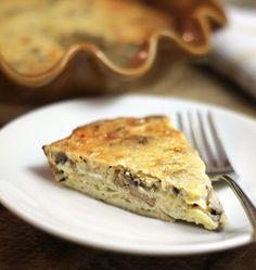 Mushroom & Gruyere Pie http://detoxinista.com/2013/04/mushroom-gruyere-pie/