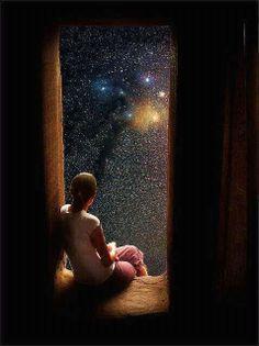 sky and star at night