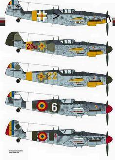 Romanian Me.109s