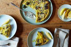 Andrew Feinberg's Slow-Baked Broccoli Frittata on Food52