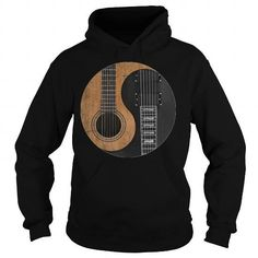 nice Guitar Ying Yang shirt