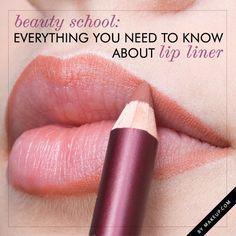 O delineador de lábios não ficou esquecido lá nos anos 90. | 21 truques de beleza para as viciadas em maquiagem em treinamento
