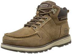 Dockers by Gerli 36ht001-204120, Zapatos de Cordones Oxford para Hombre, Negro (Schwarz/Grau), 41 EU