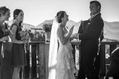 """On the blog: Real Vow Weddings 