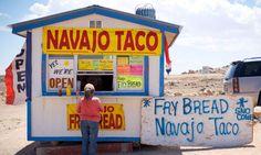 Navajo Fry Bread Recipe [     Navajo Taco stand on the Navajo Nation