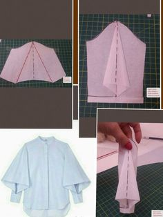 Sleeves Designs For Dresses, Sleeve Designs, Diy Clothing, Sewing Clothes, Dress Sewing Patterns, Clothing Patterns, Fashion Sewing, Diy Fashion, Sewing Sleeves
