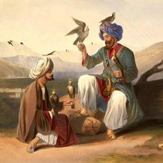 Afghan men - Color lithograph  1839-1841     Afghan Images Social Net Work:  سی افغانستان: شبکه اجتماعی تصویر افغانستان http://seeafghanistan.com