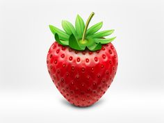 Strawberry icon by wakaba