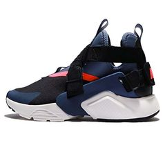 quality design 5b1d4 d3657 NIKE Womens Wmns Air Huarache City BlackNavyDiffused Blue 85 US     To view  further for this item, visit the image link.