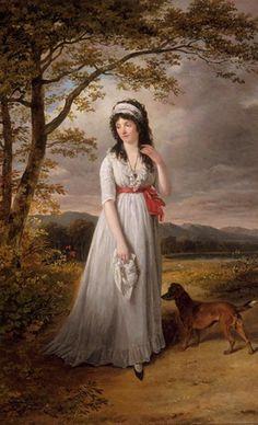 Hortense de Beauharnais by attributed to Jacques Sablet (Musée Fesch - Ajaccio, Corsica France) | Grand Ladies | gogm