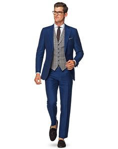 Suit Supply - maybe not a check vest but I like the look (with bowtie)