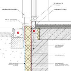 Tür vertikalschnitt  Vertikalschnitt Terrassentür | Entwurf III Schlüsselloch ...