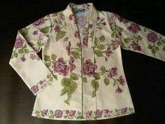 Love this 'rose' batik