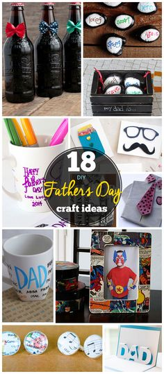 Click Pic for 18 DIY Fathers Day Crafts for Kids to Make | Homemade Fathers Day Crafts for Toddlers to Make