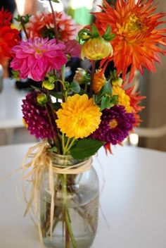 Keep fresh cut flowers alive longer by making your own flower food
