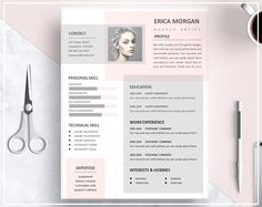 Resume Template Pink Pink CV Template Artistic Resume Template Resume Skilled Template Design Prompt Obtain CV Template Phrase Template Portfolio Design, Mise En Page Portfolio, Portfolio Web, Fashion Portfolio, Creative Cv Template, Resume Design Template, Template Cv, Modern Cv Template, Teacher Resume Template