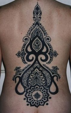 Moroccan-inspired Backpiece