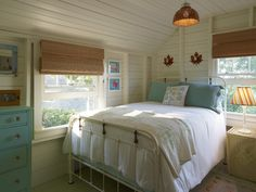 Find This Pin And More On Beach House Traditional Bedroom Farmhouse Bedrooms Design