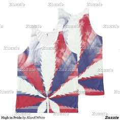 High in Pride All-Over Print Tank Top
